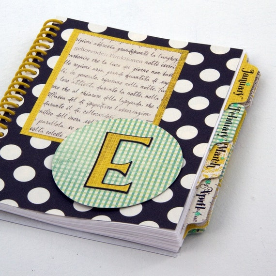Ellie design small personalized planner for Custom photo planner