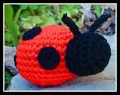 Lil LadyBug Baby Rattle