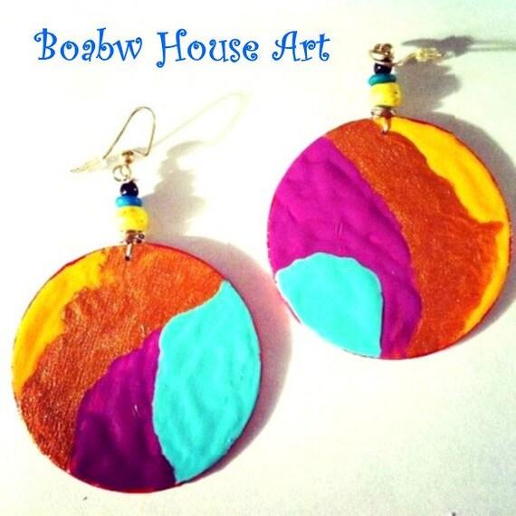 Bohemian Island Earrings