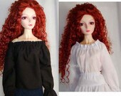 Peasant Blouse for SD size 58 cm BJD Ball Jointed Doll - Colors-Prints Available