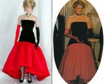 Replica of Princess Diana Christie's Auction Lot 44 Gown