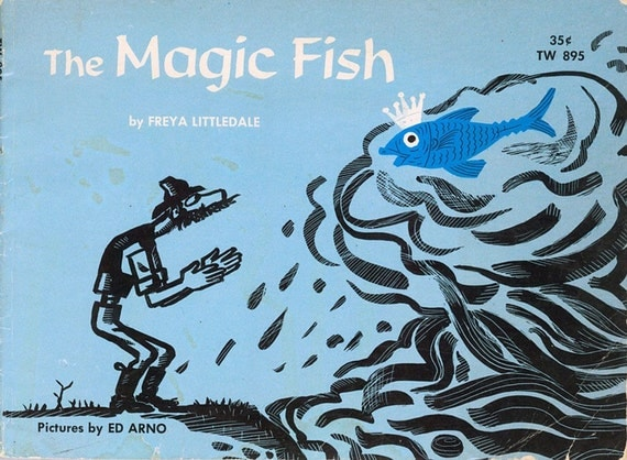 The magic fish scholastic childrens book by for Fish children s book