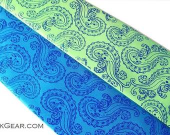 2 Men's necktie, Octopus silkscreen tie. Nautical print design - 59 necktie colors to select from