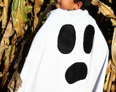 Ghostly Faced Super Hero Cape