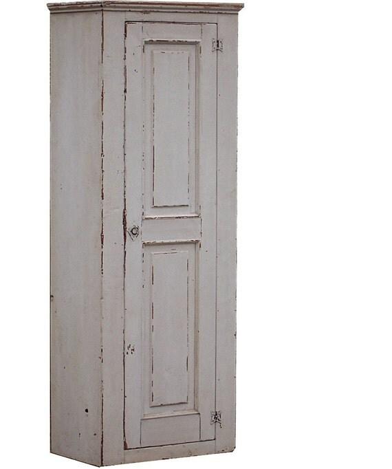 Painted primitive farmhouse furniture chimney cupboard rustic