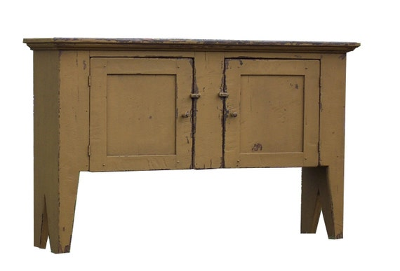 primitive huntboard sideboard buffet sofa hall console table. Black Bedroom Furniture Sets. Home Design Ideas