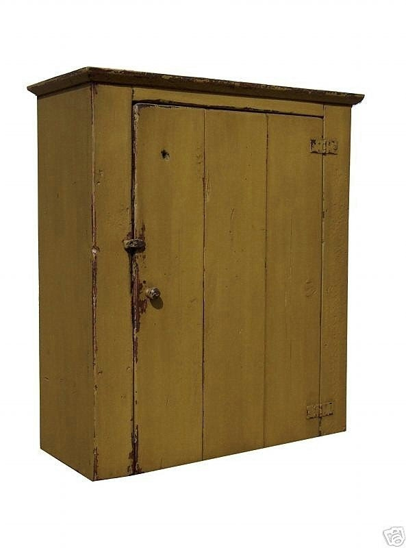 Painted Wall Cupboard