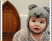 """Cashmere """" Mouse"""" hat"""