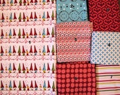 32x32 Woodland Little Houses Gender Neutral or Girl Quilt Made to Order