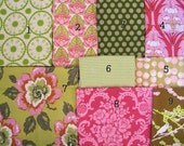 40X56 Large Pink and Olive Patchwork and Minky Throw or Blanket  Made to Order