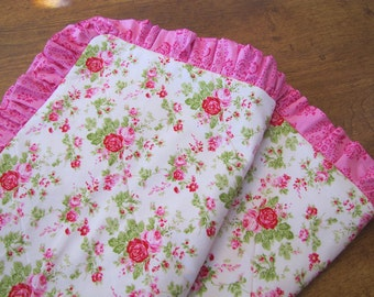 Custom Order Standard Pillow Sham with Ruffle or Piping
