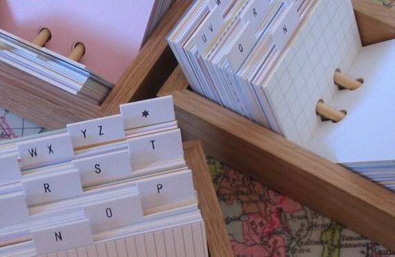 Address book box