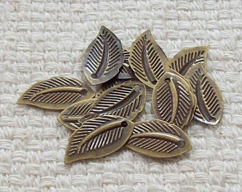 Bronze Leaves - Set of 14