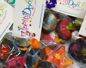SPECIAL ORDER FOR DANIELLE Chunka Chunka Crayon Love - 10 sets of fun-for-little-hands crayons