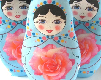 DIY Doll Kit - Easy Sew Babushka Doll Plush