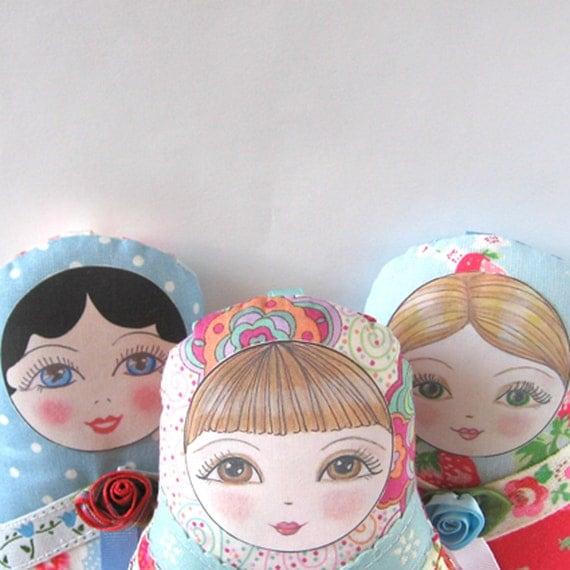 Matryoshka Doll Olga - Small size