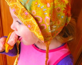 Reversible Summer Voile Bonnet - custom size
