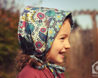 Reversible Summer Voile Bonnet - custom size