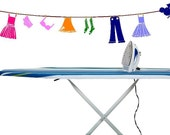Vintage Clothes Line Vinyl Decal