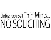Unless you sell thin mints...