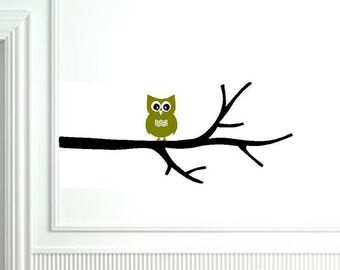 Hooty the Owl on Branch
