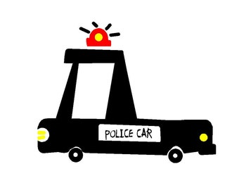 Big Police Car