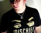 LARGE Mischief Print Tshirt black