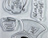 Alice in Wonderland's Mad Hatter's Party clear stamps