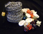 Chainmail Dice Bag Pouch - Medium