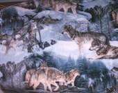 Winter Wolves Fleece Throw or Blanket