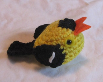 Little Goldfinch Plush or Ornament