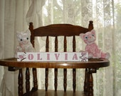 Baby Blocks Olivia Blossom Crib Bedding free shipping in USA  2 symbols included with set baby shower holiday gift gift basket childs room
