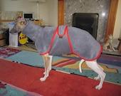 Bespoke Italian Greyhound/Whippet/Greyhound Fleece Coat