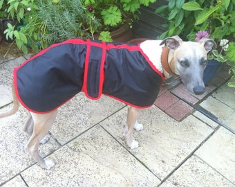 Bespoke Waterproof  IG/Whippet/Lurcher Coat - Various Colours