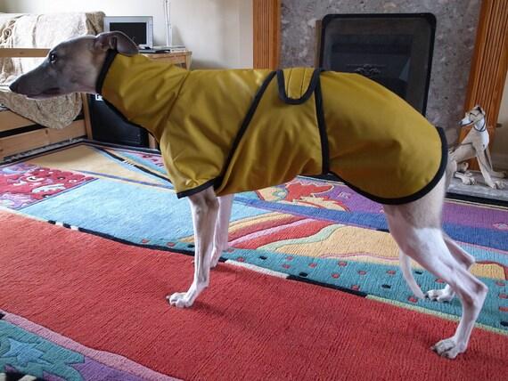 Bespoke Italian Greyhound/Whippet/ Greyhound Waterproof Coat