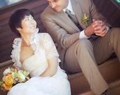 White VENETIAN bolero white lace bolero bridal bolero jacket wedding shrug
