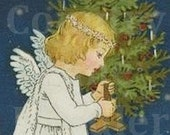 Little Christmas Angels Banner With Free Avatar