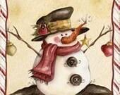 PIF - Vintage Christmas Digital Collage Sheet