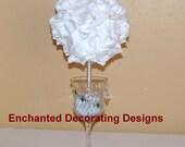 """Wedding centerpiece 6"""" Pomander Ball centerpiece silk Flower Decoration Kissing Ball Centerpiece flower ball decoration flower arrangement"""