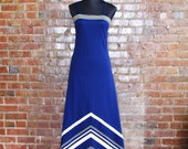 RESERVED: Navy Maxi Dress