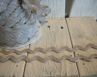 Linen Rick Rack 3/4 inch-3 yards