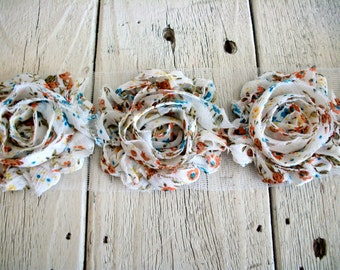 Sale-Shabby  COUNTRY ROSE Trim-2 1/2 inches-1/2 yard