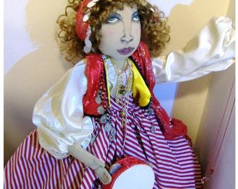 Gypsy Boudoir Doll