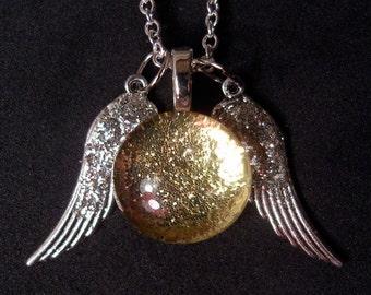 Ginny's Snitch Necklace
