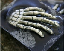 """Halloween soap for that creepy clean feeling... """"Inky Black"""""""