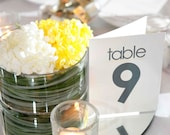 Table Numbers for Wedding Reception - Set of 20