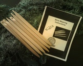 Weaving Sticks Set of 6 Large Make your own scarves, belts, handbags, blankets and much more These make great GIFTS for young and old