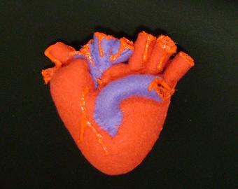 Human Heart Plush