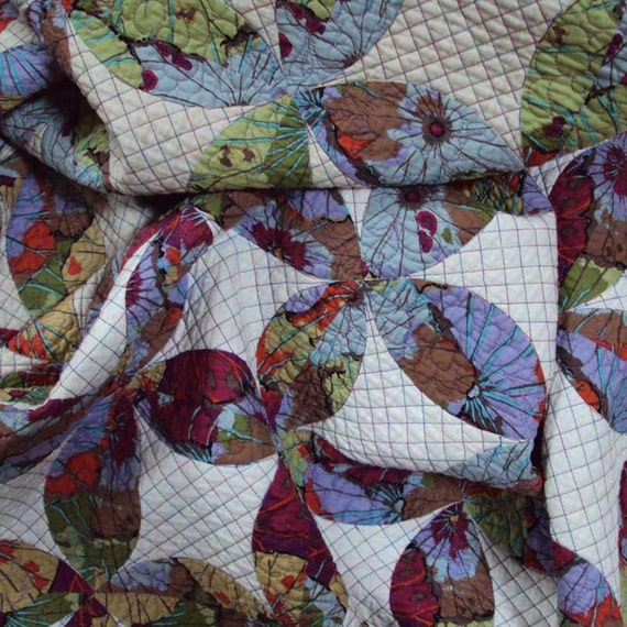 Quilt Made to Order Modern Reproduction Lafayette Orange Peel