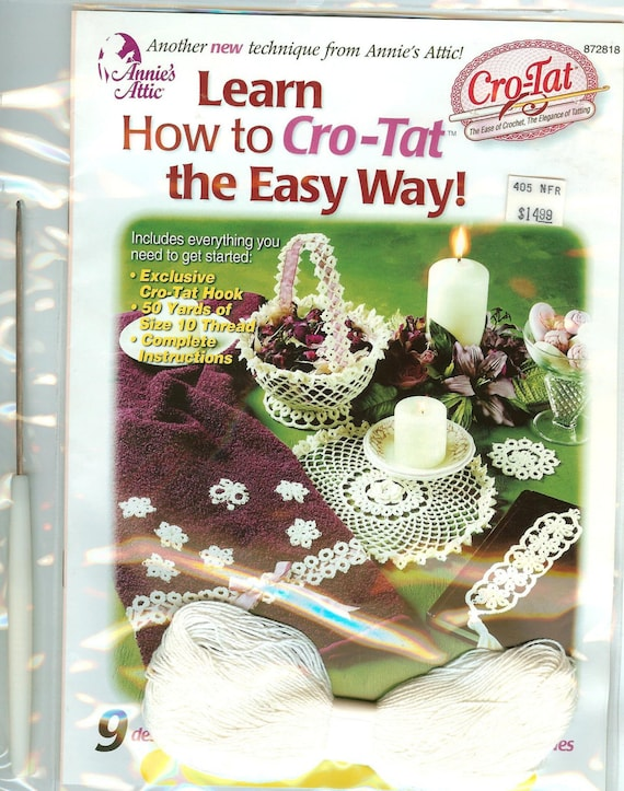 Kit Learn how to Cro-Tat the Easy Way Annie's Attic crotat